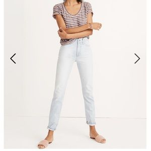 Madewell Perfect Vintage Jeans Fitzgerald wash👖